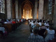 Abbaye d'Autrey soir de concert du festival