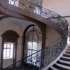 Abbaye de Senones - L'escalier d'Honneur