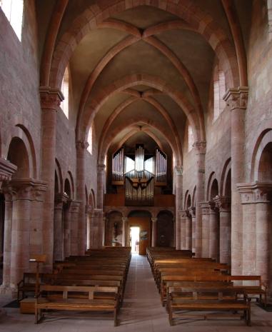 abbaye d'Etival - roman tardif