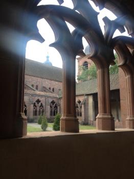 Cathédrale St Dié - le cloître